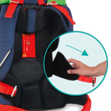 Школьный ранец DerDieDas ErgoFlex с наполнением Крутой Вираж, - фото 11