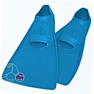 Ласты для бассейна резиновые детские размеры 29-30 синие ПРОПЕРКЭРРИ (ProperCarry)